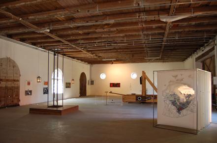 Jordberga Konstexpo 2014: När motstånd bjuds, installationsvy
