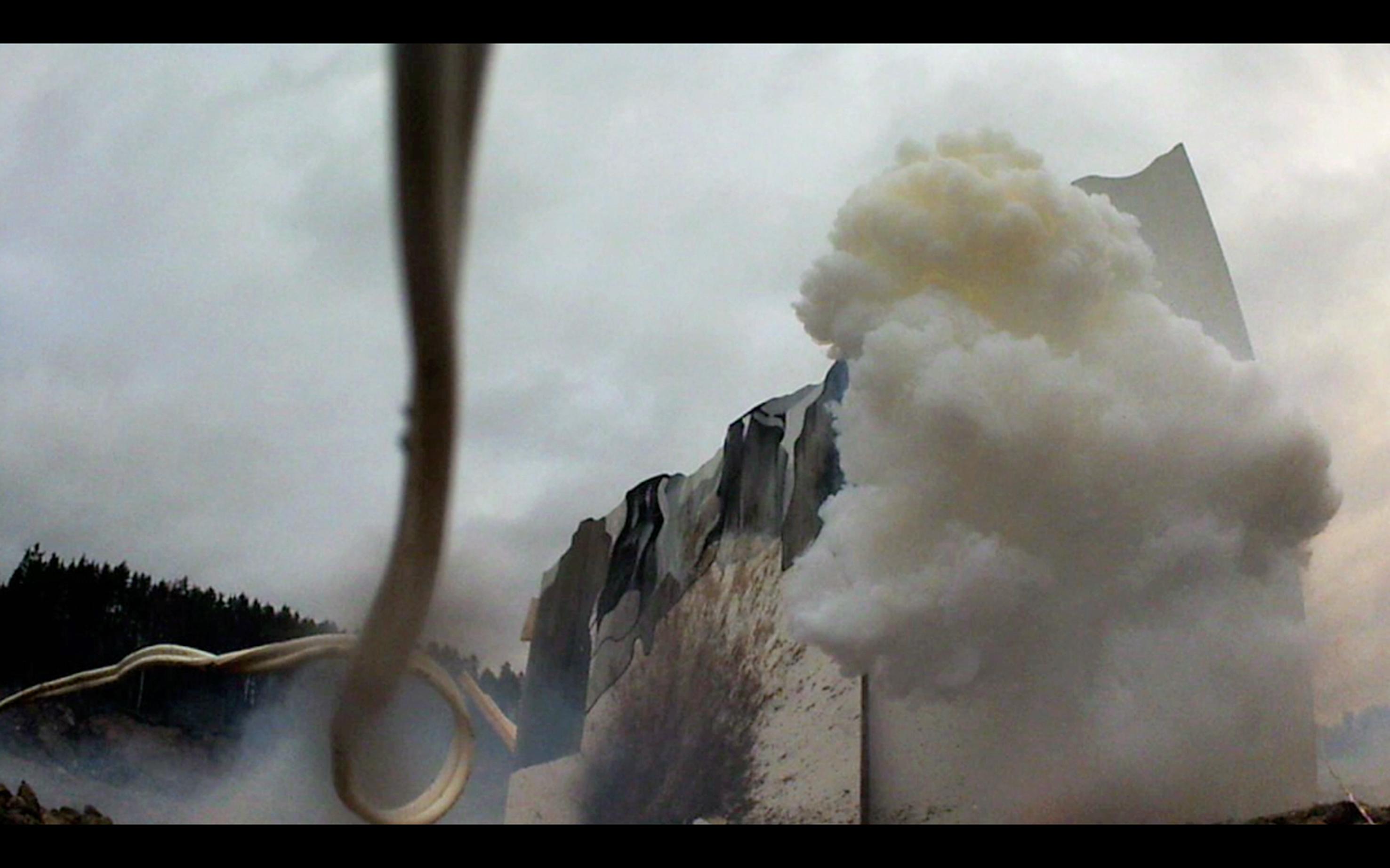 """""""This land is my land"""", stillbild ur videoverk, Maiken Stene"""