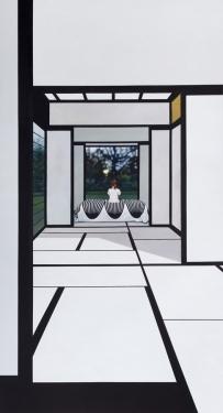 """""""Katsura vertical"""", Anette Harboe Flensburg. Foto: Galerie Leger"""