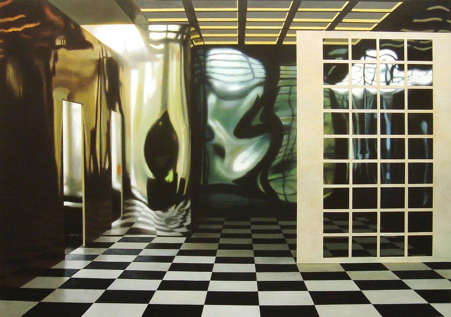 """""""Room No 14"""", Anette Harboe Flensburg. Foto: Galerie Leger"""