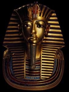 Kopia av Tutankhamuns begravningsmask. Foto: Anne-Marie von Sarosdy/Semmel Concerts GmbH