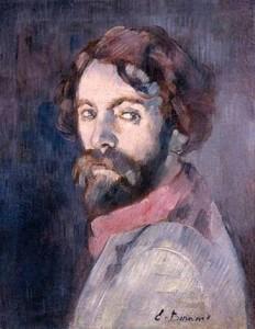 Émile Bernard, självporträtt