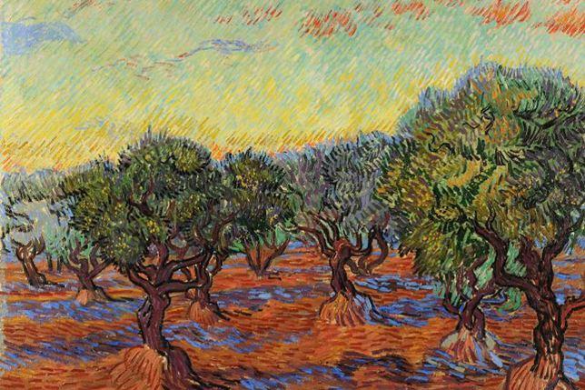 "Vincent van Gogh, ""Olivlund, Saint-Rémy"", 1889"