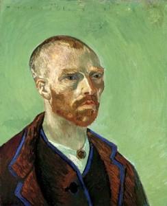 Vincent van Gogh, självporträtt