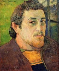 Paul Gauguin, självporträtt